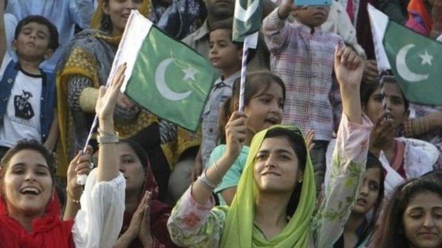 पाकिस्तानी महिलाएं और बच्चे