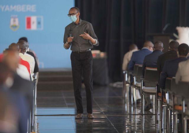 Bwana Kagame mu nama y'abakuriye FPR ku rwego rw'igihugu yabaye kuwa gatanu
