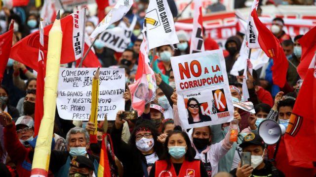 Manifestaciones antifujimori