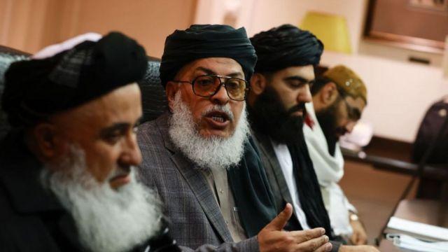 """Талибан"""" - запрещенный в России - снова едет в Москву на переговоры. Зачем?  - BBC News Русская служба"""