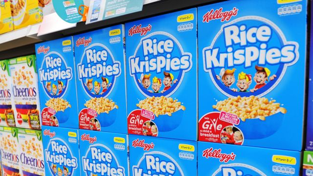 Kellogg's to cut sugar in kids' cereals by up to 40%