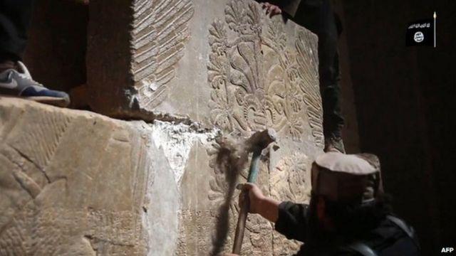 İD Nimrudda eradan əvvəl 13-cü əsrə aid arxeoloji məkanları dağıdıb
