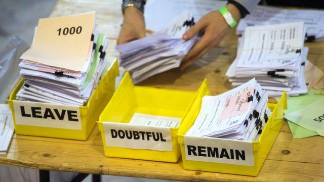 Conteo de votos