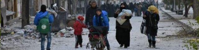 Abanyagihugu bariko barahunga ubuseruko bwa Alep