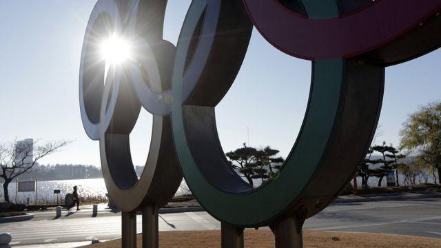 Olympic logo Pyeongchang