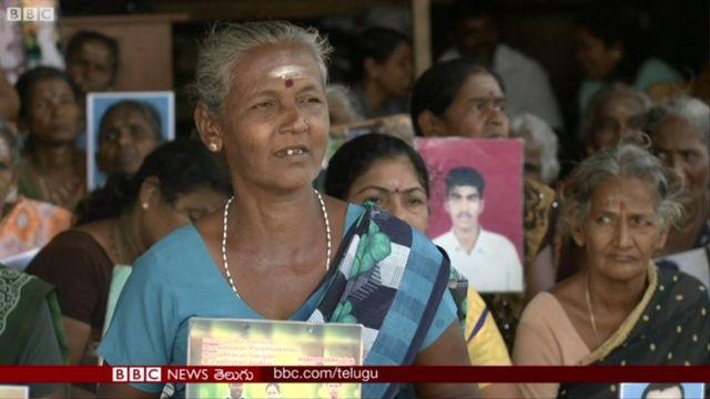 జాఫ్నాలో అదృశ్యమైన తమిళ టైగర్లలో ఒక కుటుంబానికి తల్లి