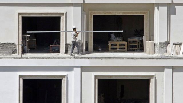 کارگر ساختمانی در ایران