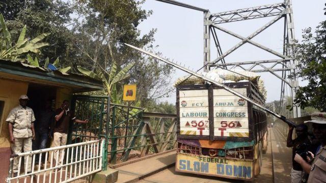 Oke mba Naịjirịa na mba Cameroon dị na Cross River steeti