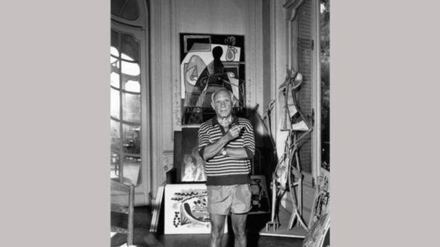 Picasso em Cannes