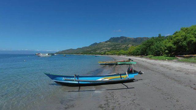 Beach in East Timor