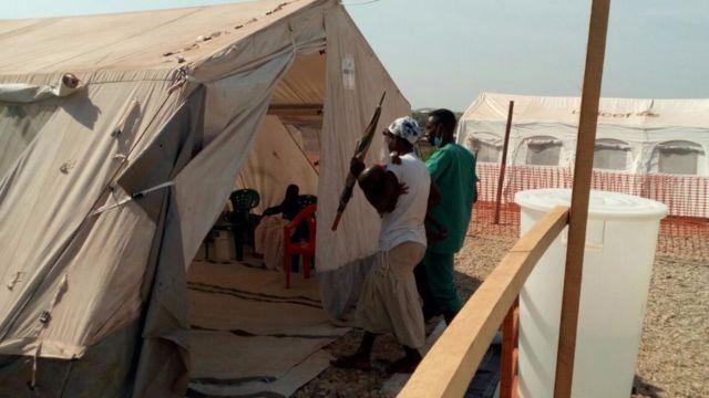 Ikigo bakiriramwo abarwayi ba Cholera muri komine Kabezi mu ntara ya Bujumbura