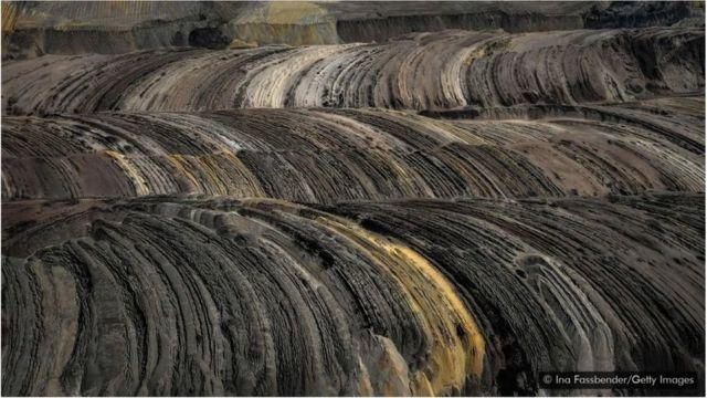 Almanya linyit kömürü madeni