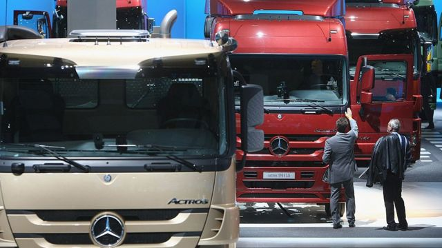 کامیونهای شرکت دایلمر (بنز)
