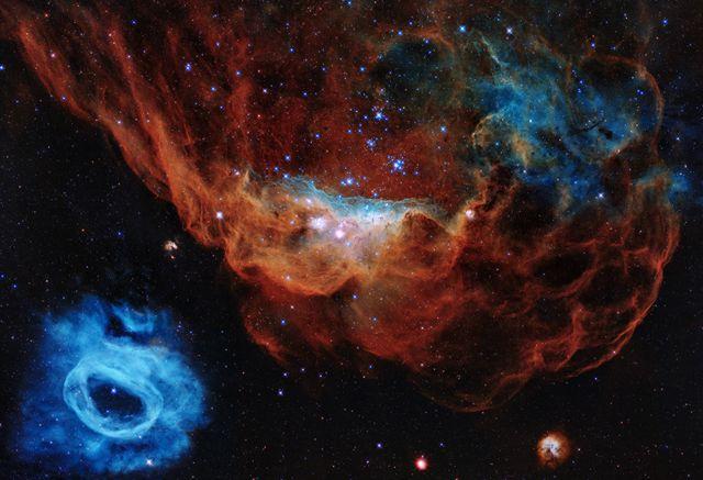 Las mejores imágenes del espacio captadas en 2020 - BBC News Mundo
