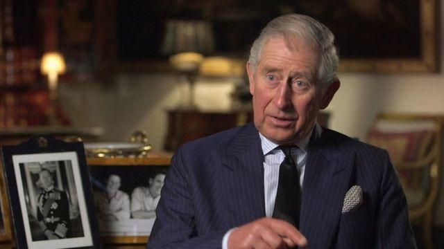 Prince Charles of Wales.