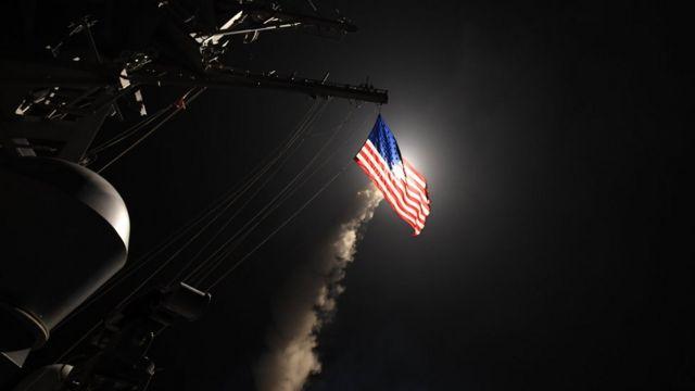 Ataque de Estados Unidos a Siria.