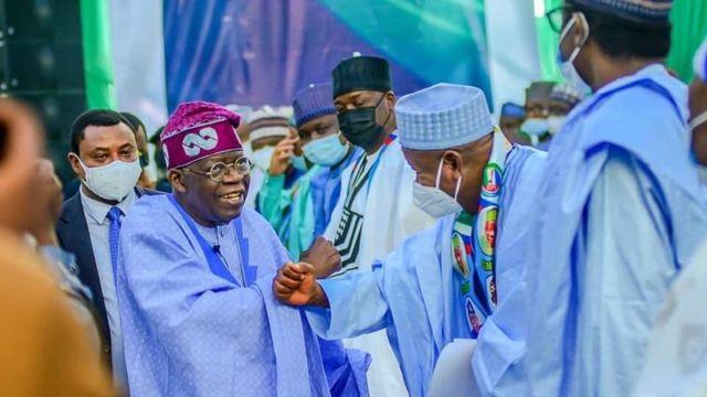 Asiwaju Bola Ahmed Tinubu: Nigerian politician Bola Tinubu colloquium in  Kano lessons - BBC News Pidgin