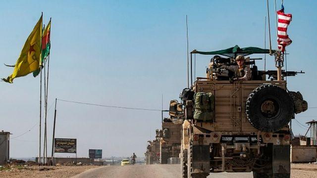 ABD ordusu, Türkiye'nin askeri operasyonu başlamadan önce Suriye'nin kuzeydoğusundan çekildi