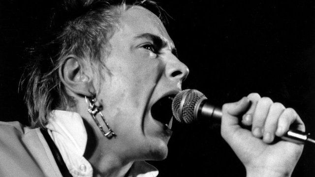 John Lydon singing