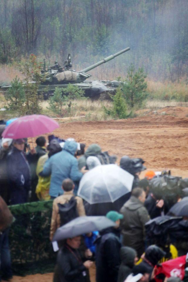 Журналисты на полигоне Лужский 18 сентября