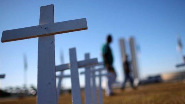 Brasil registra mais 15 mil casos e 542 mortes por covid-19 em 24h - BBC  News Brasil