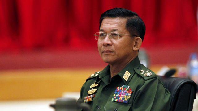 緬甸軍總司令敏昂萊