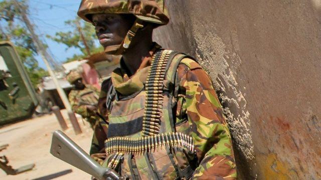 جندي كيني