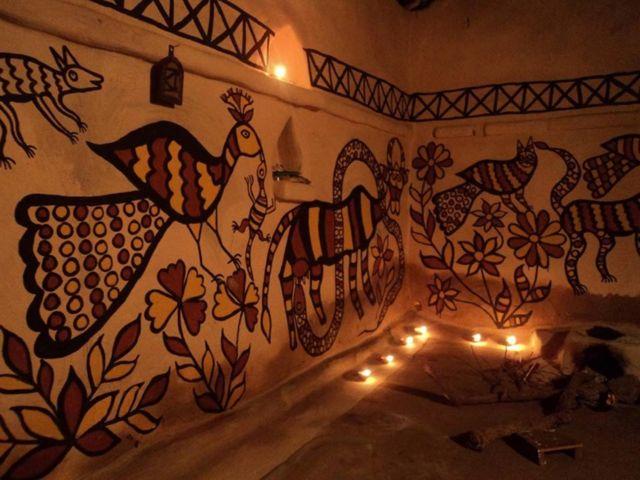 झारखंड, आदिवासी कला,