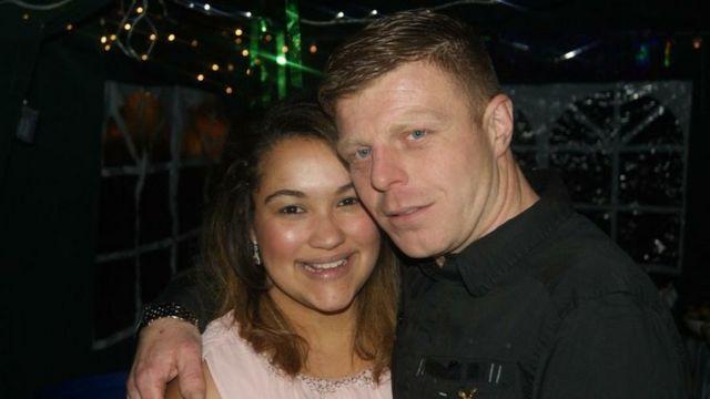 ليلى ابراهيم وزوجها