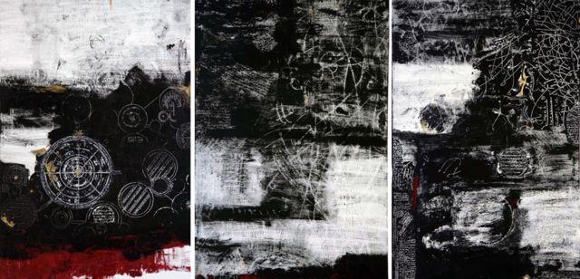 سه گانه بی عنوان، اثر کیانوش فرید