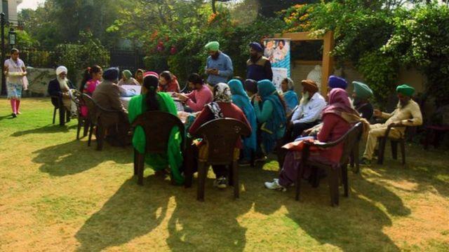 चंडीगढ़ में आयोजित बैठक में शामिल महिलाएं