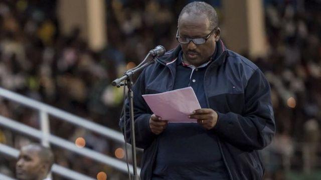 Jean Pierre Dusingizemungu avuga ibibazo by'abacitse ku icumu