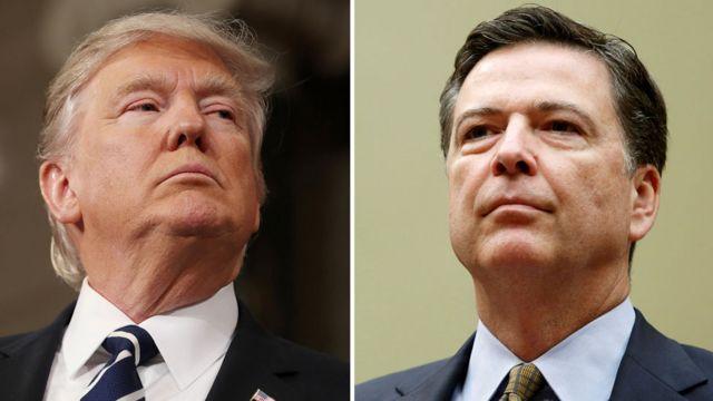 Trump and Comey
