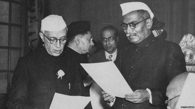 जवाहरलाल नेहरू और डॉक्टर राजेंद्र प्रसाद