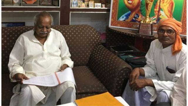 முஸ்லீம்களை பாஜக தலைவர் ஷிவ் பஹதுர் சக்சேனா வரவேற்கிறார்