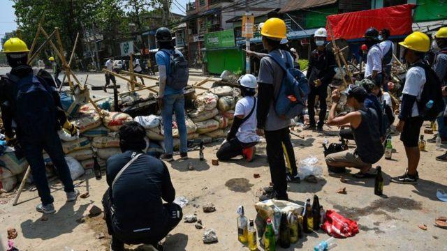 Myanmar clashes