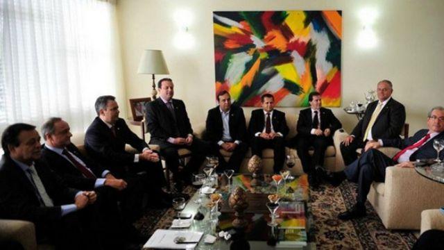 Casa de Cunha sediava reuniões de partidos do centrão em 2014