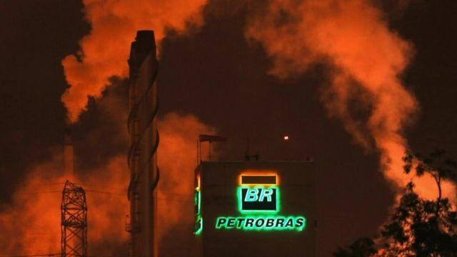 Refinaria da Petrobras em Cubatão
