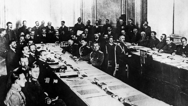 Российско-германские мирные переговоры в Брест-Литовске (3 декабря 1917 года)