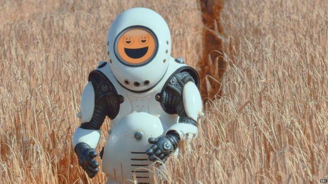 Robots replacing men in domestic work.