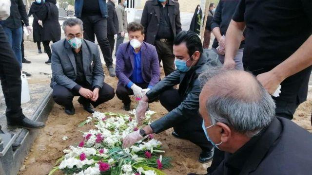 جهانپور در خاکسپاری