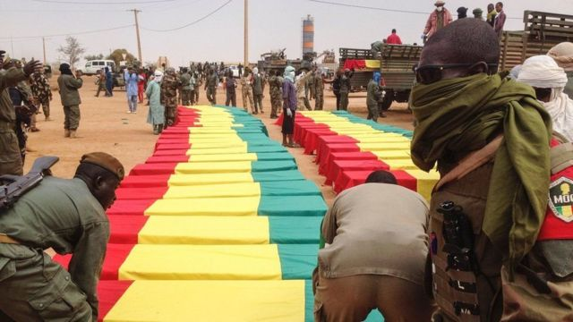 Mu kwezi guheze abantu barenga 70 barishwe mu gitero ca bombe c'umwihevyi i Gao mu buraruko bwa Mali