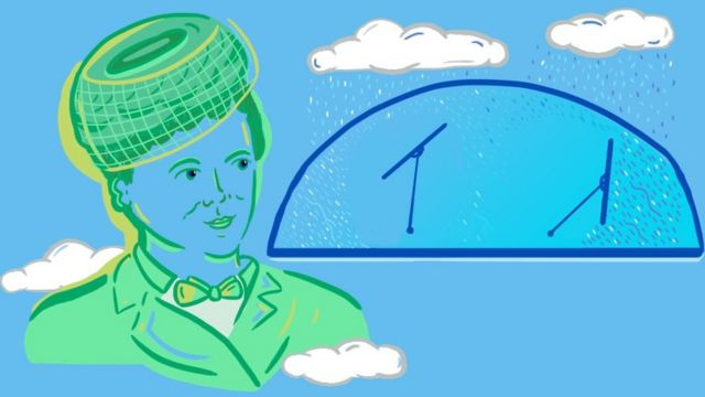 Illustration of Mary Anderson and some windscreen wipers