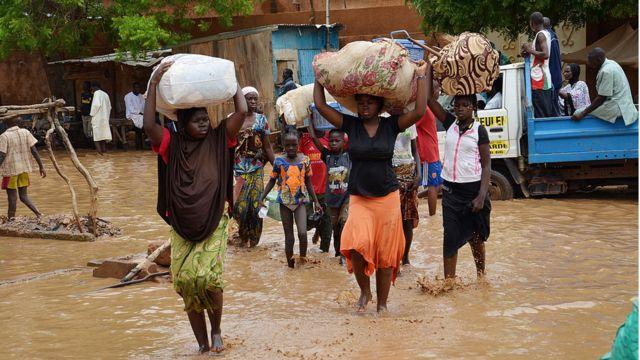 Selon l'ONU, plus de 100.000 sinistrés ont été enregistrés depuis le début de ces évènements.