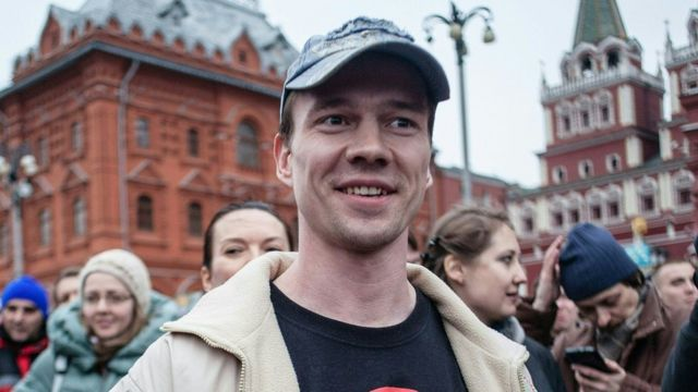 Дадин в Москве (архивное фото)