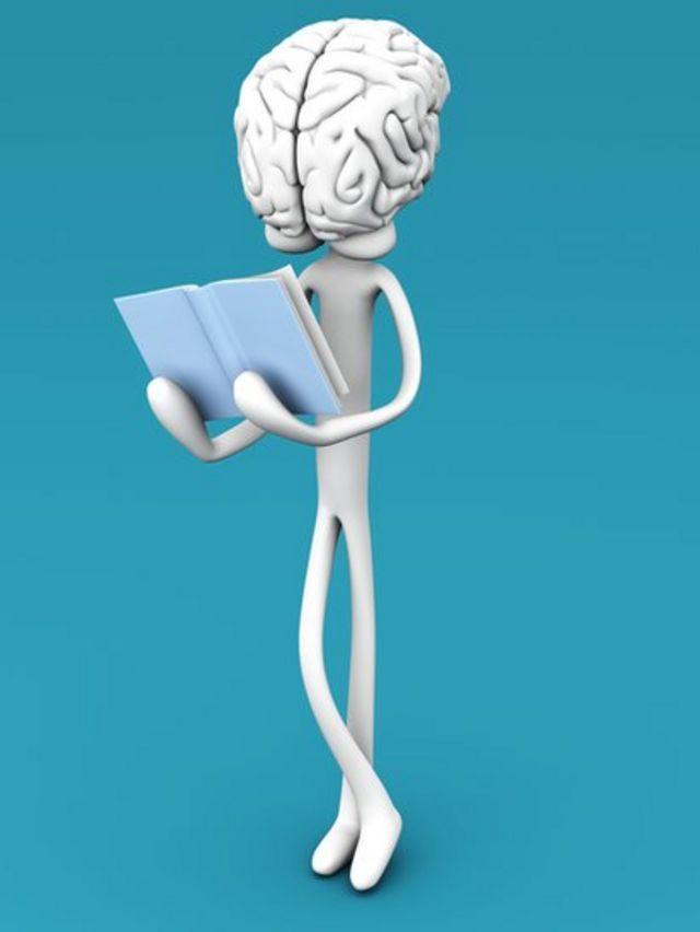 El cerebro toma fotos de lo que lee.