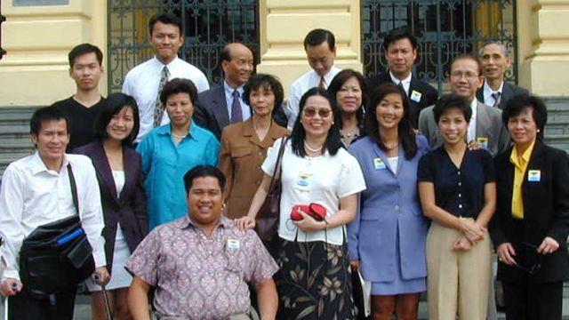 A delegação de TI no Vietnã