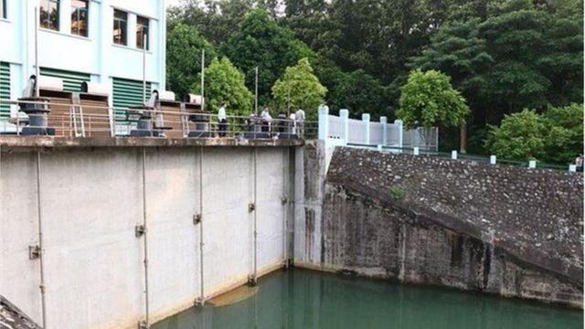 Hình ảnh tại nhà máy nước sông Đà