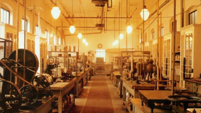 Thomas Edison-laboratorium.