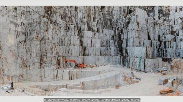 2016年,意大利卡拉拉,卡拉拉大理石採石場,Cava di Canalgrande#2。